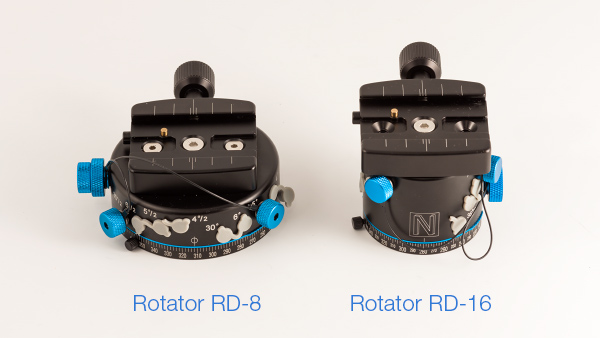 Difference between rotators RD-8 and RD-16