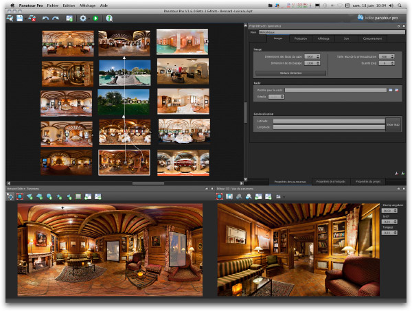 Panotour Pro 1.8 interface