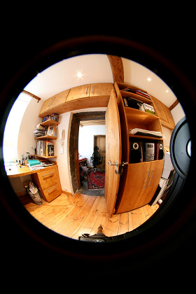 Optical distortions and their corrections on panoramic photography